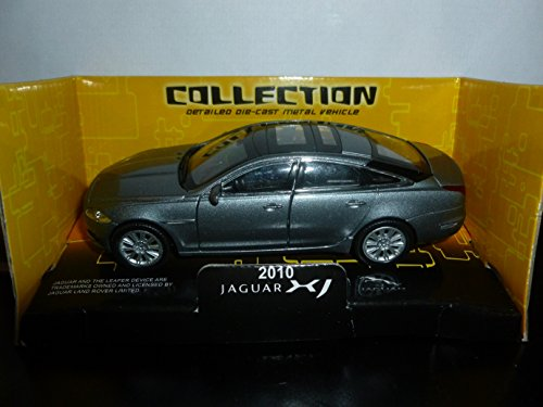"Brand New OFFICIAL collection ""JAGUAR XJ 2010 "" (Dark Grey) die cast car size 1:38 [EXCLUSIVE] - 1"
