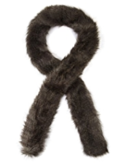 M&S Collection Faux Fur Scarf