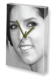 ANNA KENDRICK - Canvas Clock (LARGE A3 - Signed by the Artist) #js001