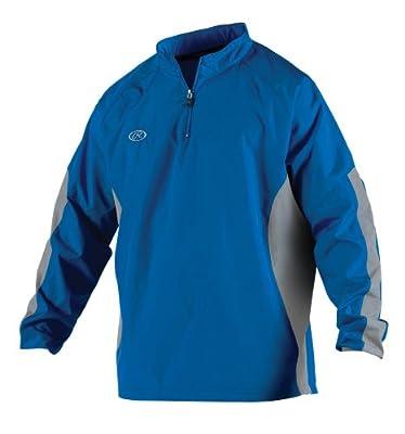 Rawlings Men's Long Sleeve Wind Breaker Jacket