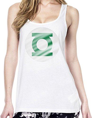Green Lantern Tunica delle donne Large
