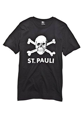 FC St. Pauli teschio I-Maglietta, nero