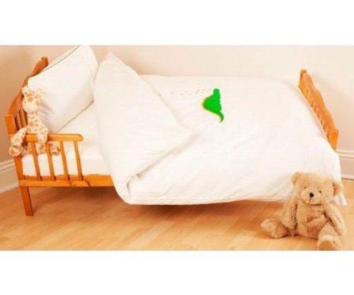 Saplings Cot Bed Duvet Cover And Pillowcase - Dino The Dinosaur