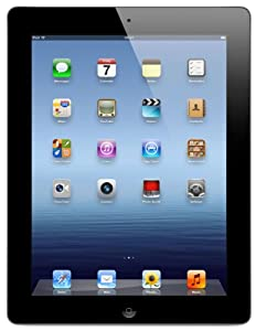 Apple iPad 3 (9.7 inch LED Multi-Touch) Tablet PC 16GB WiFi Bluetooth Camera (Black)