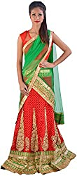 Jyoti's Creation Women's Net Lehenga Cholis
