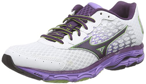 mizuno-womens-wave-inspire-11-running-shoes-bianco-weiss-white-shadowpurple-green-68-65-uk