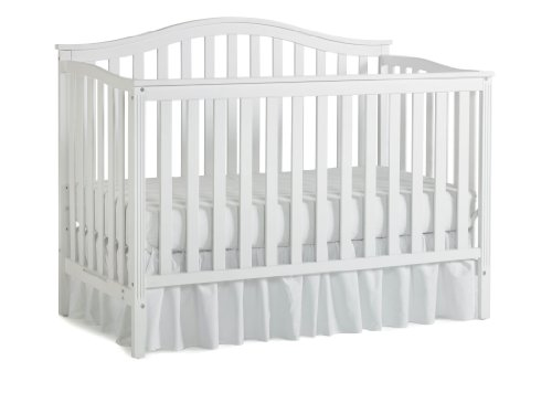 Nursery 101 Sidney Convertible Crib, White