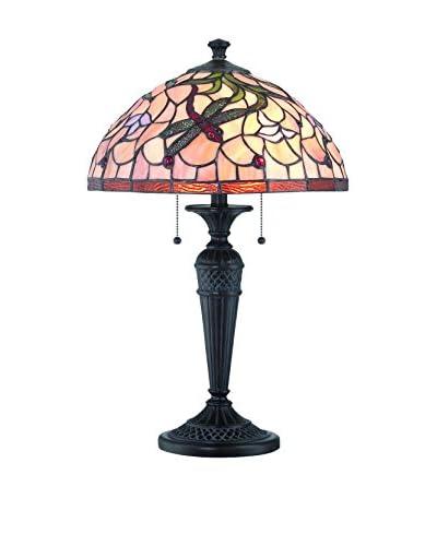 Lite Source Breanna 2-Light Table Lamp, Dark Bronze