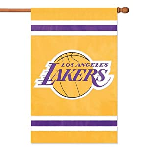 Party Animal Los Angeles Lakers Applique Banner Flag by Party Animal