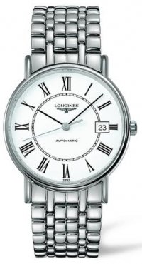 Longines La Grand Classic Presence (Large Size 38.5 mm) Automatic See Tru Back Men's Watch