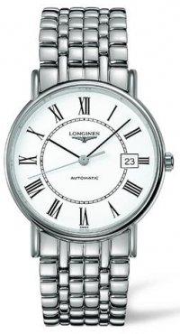 Longines La Grand Classic Presence (Large Size 38.5 mm) Automatic See Tru Back Men's Watch