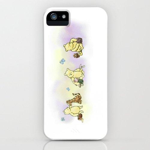 society6(ソサエティシックス) iPhone5/5sケースくまのプーさん Classic Winnie the Pooh 並行輸入品
