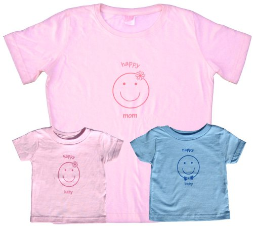 Happy Mom Pink Shirt – Adult Large, S/S