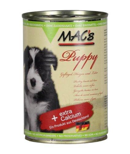 Artikelbild: MAC's Hundefutter Puppy 12 X 400 g