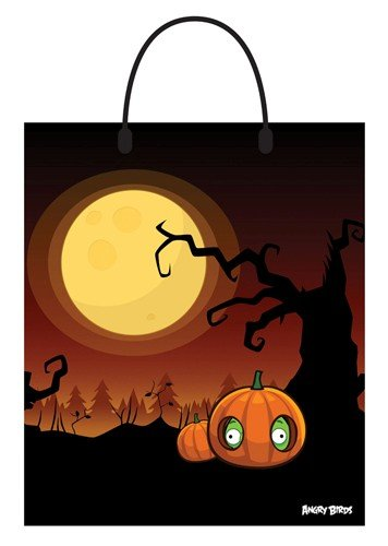 Angry Birds Night Scene Treat Bag