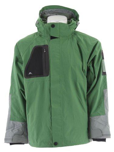 Stormtech Triton H2Xtreme Shell Jacket Kiwi/Grey Sz M