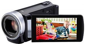 JVC GZ-E200BEU Full-HD Camcorder (7,6 cm (3 Zoll) Display, 40-fach opt. Zoom, F1.8, HDMI, USB 2.0) schwarz