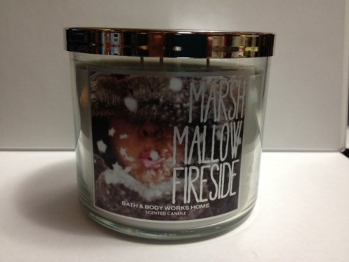 Bath Body Works Marshmallow Fireside 3-Wick Scented