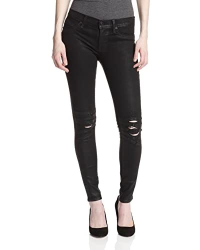 Hudson Women's Krista Super Skinny Jean with Knee Detail