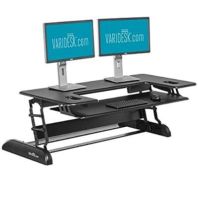 VARIDESK - Height-Adjustable Standing Desk for Cubicles - Cube Plus 48