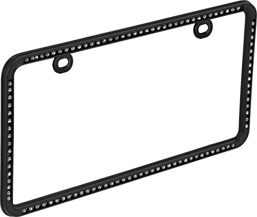 Bell Automotive 22-1-46501-8 Black Diamond License Plate Frame (Diamond Plate License Plate Frame compare prices)