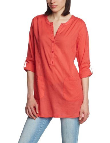 Ichi - Camicetta, donna, Rosso (Red - Rot (656)), 14- UK