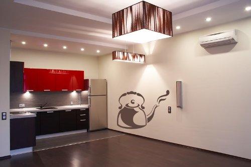 Bollitore recensioni bollitore fumante caff cucina wall - Wall stickers cucina ...