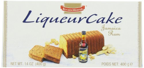 KuchenMeister Jamaica Rum Cake, 14-Ounces (Pack of 4)