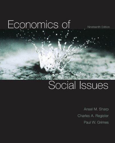 Economics of Social Issues (McGraw-Hill Economics)