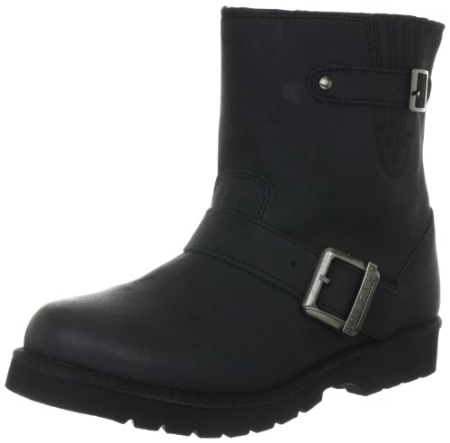 Buffalo 11853 Action Nucbuck 130788, Stivaletti donna, Nero (Schwarz (BLACK723)), 38