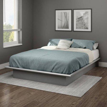 south-shore-basics-full-platform-bed-with-molding-10h-x-75l-x-54w-full-soft-gray