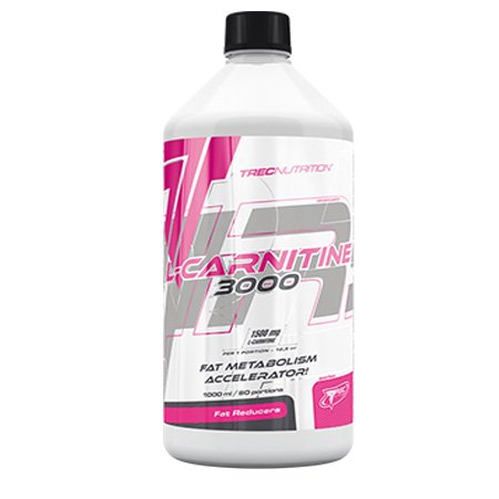 Trec Nutrition L Carnitine 3000 500 ml -- Accelerates Metabolism / Fat Burner / Supports Weight Loss