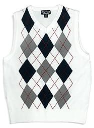 Blue Ocean Kids Argyle Sweater Vest-18/X-Large