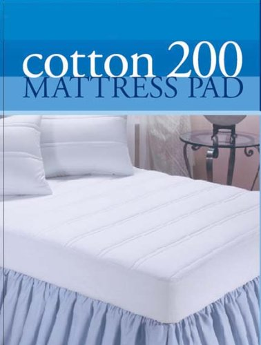 MARRIKAS Spring Air 200TC Mattress Pad QUEEN