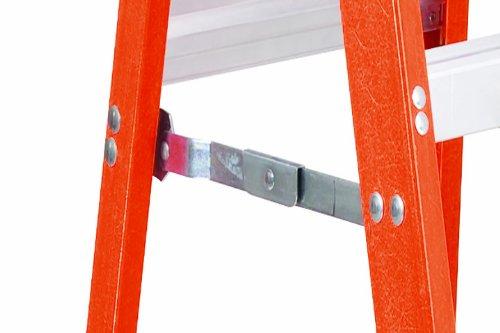 Louisville Ladder FS1506 300-Pound Duty Rating Fiberglass Ladder, 6-Feet