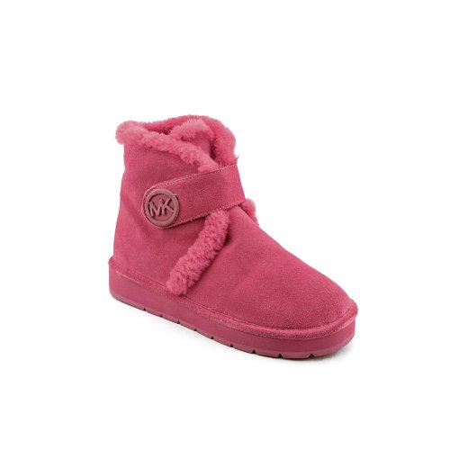 Michael Kors Winter Bootie Womens Size 9 Pink Suede Winter Boots
