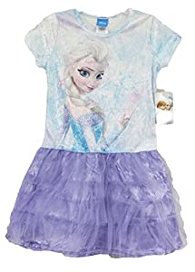 Disney Frozen Elsa the Snow Queen Youth Tutu Dress Costume