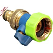 3/4'' Thread 1 Or 2 Way Brass TPR Water Tap Splitter/Connector Garden Irrigation MODEL30020