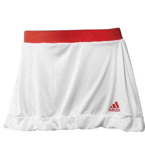 Adidas Adizero Ladies Tennis Skort Skirt - White -