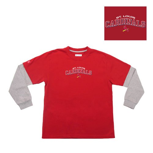 "BSS - Saint Louis Cardinals MLB Danger"" Youth Tee (Red) (Large)"" at Amazon.com"