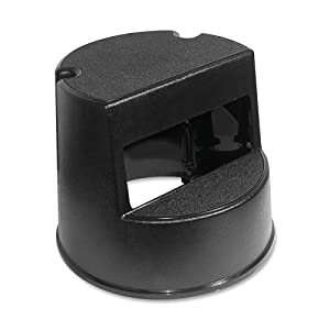 Rubbermaid Rolling Step Stool RCP252300BK from Rubbermaid Commercial Products
