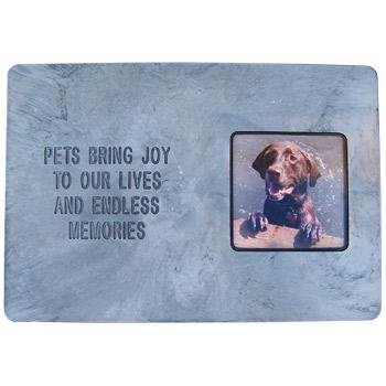 Hueter Toledo Photo Frame Memory Endless Stone Pet Memorial