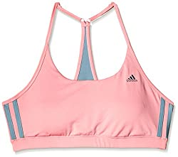 adidas Non-Wired Seamless Sports Bra (AI0870_Pink and Green_44B)