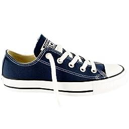 Converse Women\'s Chuck Taylor Low Top Sneaker Navy 5.5 M