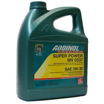 5 Liter SAE 5W-30 Addinol Super Power MV 0537