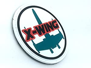 Star Wars X Wing PVC Airsoft Velcro Patch