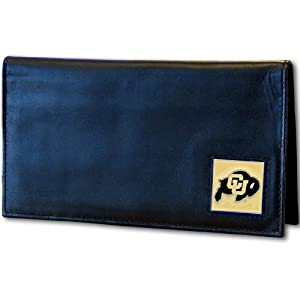 Buy Colorado Buffaloes Deluxe Leather Checkbook Cover by Siskiyou Sports
