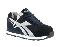 RB195 Reebok Women\'s Retro Jogger Safey Shoes - Navy Blue - 12.0\\W