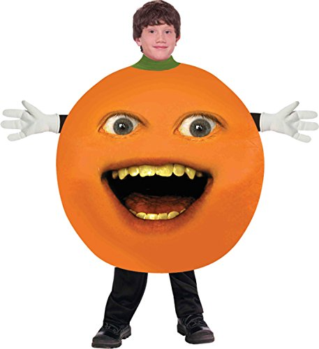 Annoying Orange Child Costume Size Large (10-12)