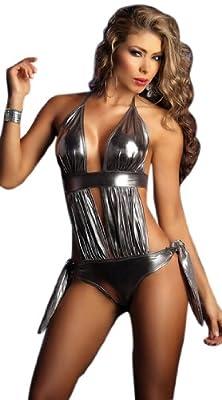 "Waooh - Lingerie - Body sexy ""Mona"" - Argent"
